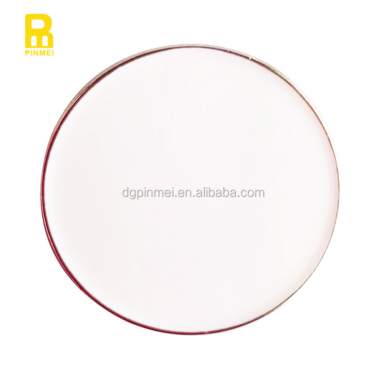 25mm blank golf ball marker for digital printing