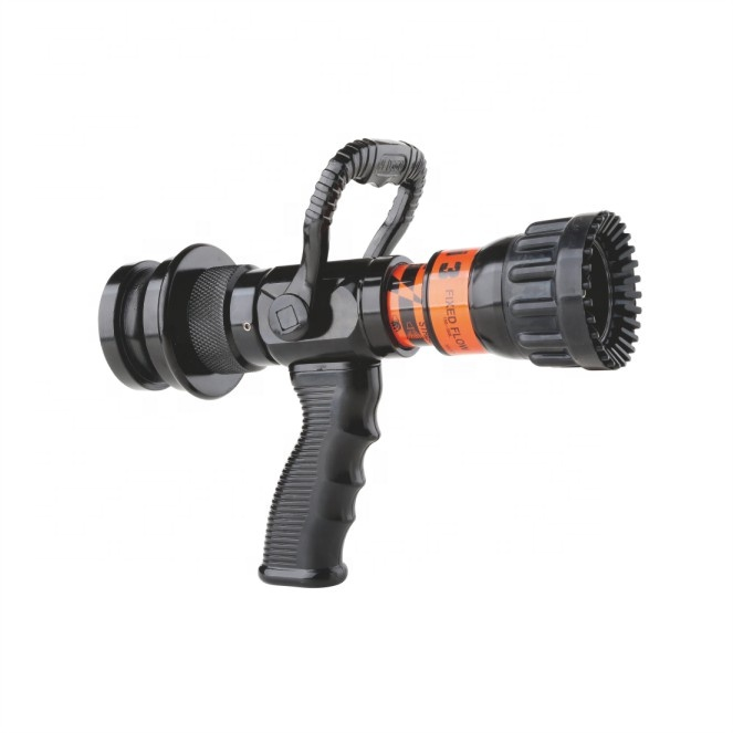 High quality Selectable Flow Pistol Grip Jet Spray Fire Hose Nozzle