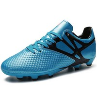 Custom latest indoor sport football soccer shoes for boys