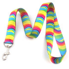 Manufacturers in china custom design your own neck lanyard dye sublimation printed medal ribbon