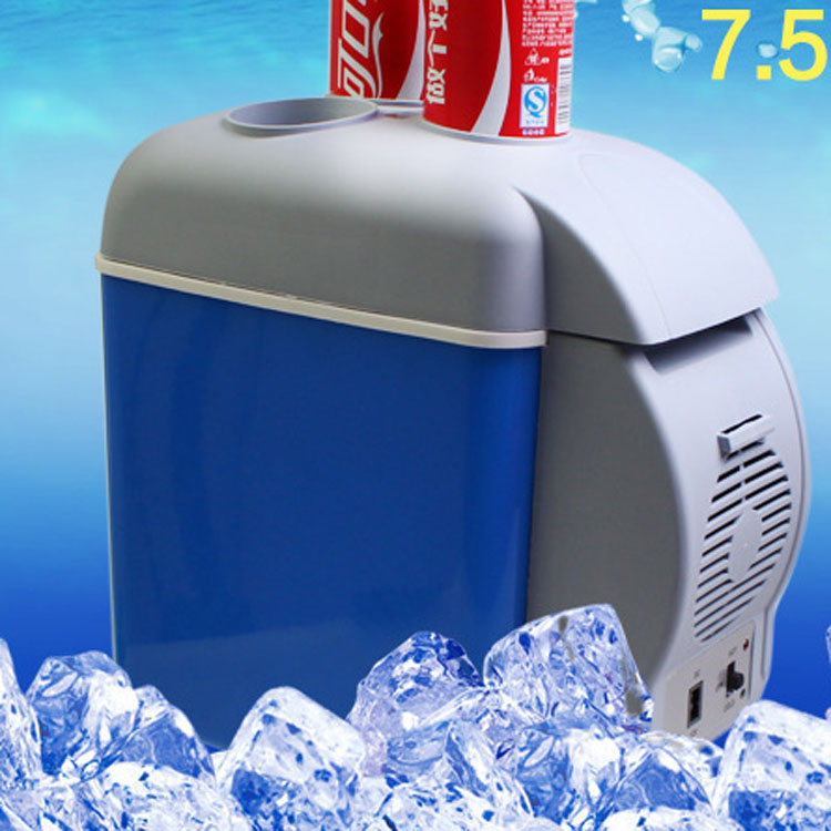 Promotional 7.5L mini refrigerator for car use portable mini freezer box black point refrigerators