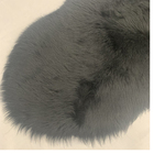 Rabbit Fur Imitation Sheepskinfur High Quality Rabbit Faux Round Fur Rug Carpet