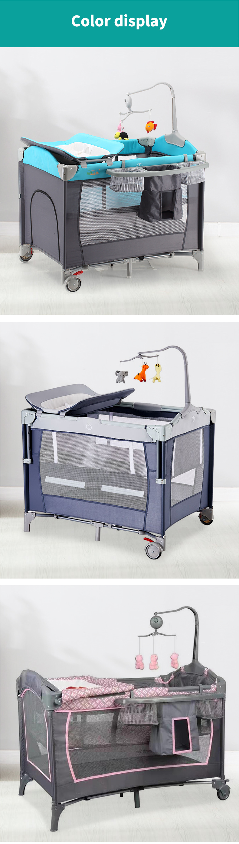 2020 Babilous Wholesale Bedside Travel Unique Folding Pack And Play Portable Adult Baby Cribs Buy Baby Crib Adult Baby Crib Portable Baby Crib Product On Alibaba Com