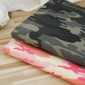 Cheap stretch cotton spandex colores military camouflage fabric
