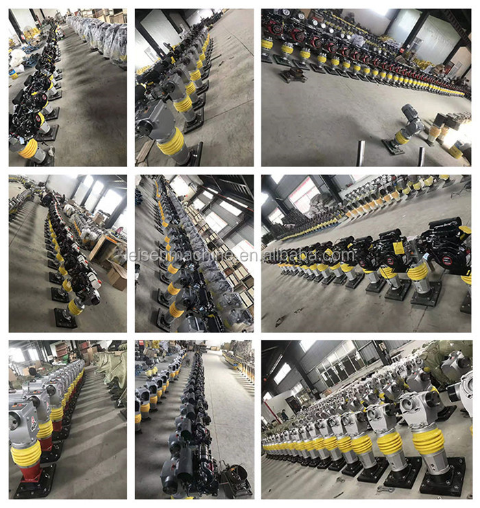 Brand new product petrol vertical rammer factory price sale gasoline power Honda engine tamper rammer soil tamping rammer