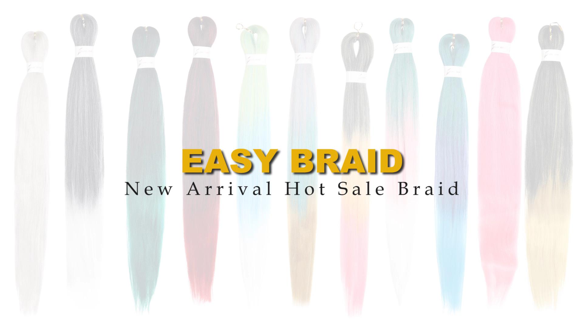 Kostenlose Probe Synthetische Pre Gestreckt Flechten Haar Für Großhandel Beste Günstige Braid Haar Smartbraid Synthetische Haar Geflecht