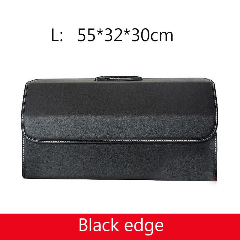 Универсальный органайзер для багажника автомобиля из искусственной кожи, сумка для хранения, сумка для инструментов для мусора, Складная Б...(Китай)