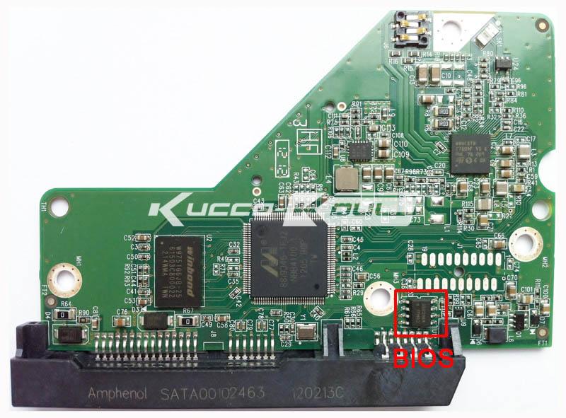 "WD 3.5/"" HDD H//D Hard Drive SATA WD15EARS WD20EARS 2060-771853-000 PCB Board"