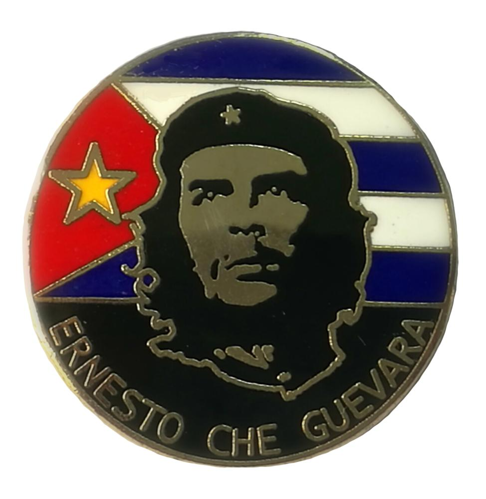 Custom Freedon Fighter Che Cuevara Vergulde Harde Emaille Pin