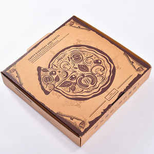 Custom logo High Quality Cheap paper packing pizza box maker