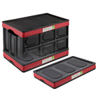 High quality plastic collapsible car storage box