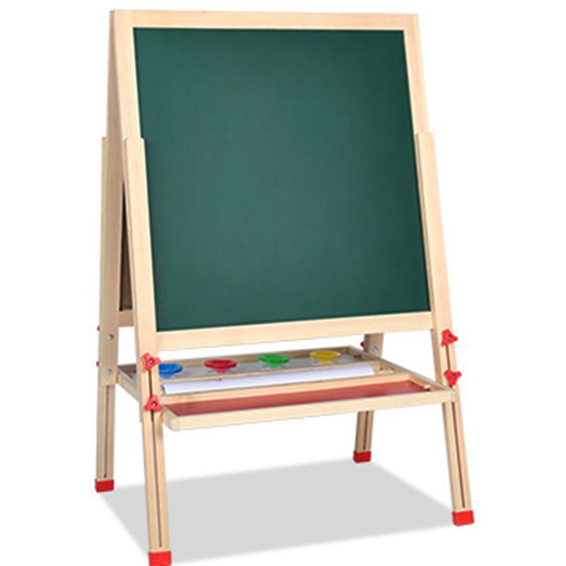 Небольшой Профессиональный регулируемый деревянный стенд дисплей пола картины поставляется с зажимом деревянный мольберт студии для детей рисунок