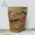recycle stand up pouch zip lock dried biodegradable kraft paper bag food packaging bag