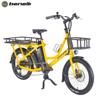 Fast Food Electric Bike Pizza Delivery Electric Scooter Bike Electric Cargo Bicycle