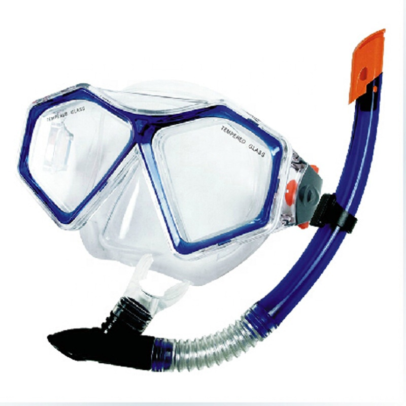 2019 winmax in silicone Per Adulti un facile trasporto a buon mercato del pvc mascherina di immersione subacquea diving set