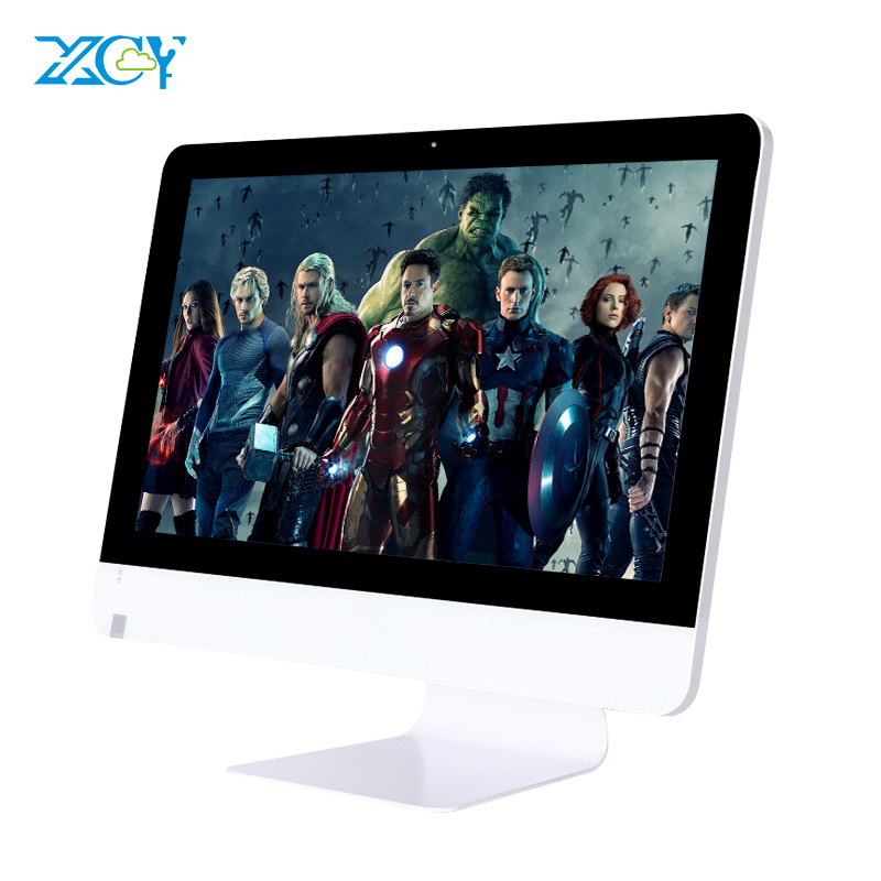 XCY All in ones pc gaming computer core i7 quad core AMD A6 5200 18.5/21.5/23.6 inch 8G Ram 120G oem all-in-one pc