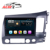 "AuCAR 10.1"" Android Car Radio for Honda Civic RHD 2006 - 2011 Touch Screen Stereo Video GPS Bluetooth Multimedia BT 4G WiFi"