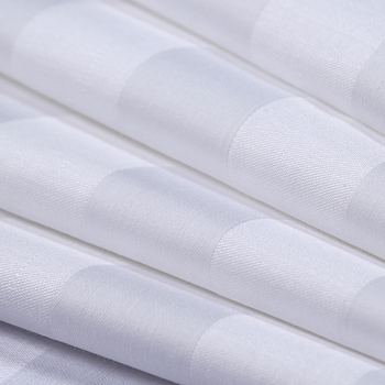 100% cotton sateen weave 500 tc high thread count organic cotton fabric
