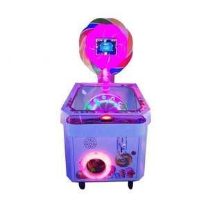 Candy out gift game machine auto sell lollipop stick making children's machine
