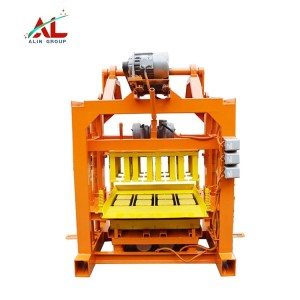 Popular QTJ4-40 Fly Ash Interlock Brick Making Machine in Madagascar Mauritius price