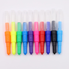 Promotion multi-color non-toxic jumbo blow pen spray color marker air brush pen for painting