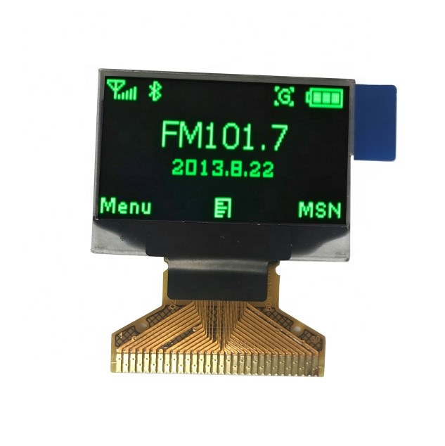 Custom Shape Transparent Small Oled Display 128 X 64 High Resolution Wide  Oled Panel Display 0 96 Inch I2c Mini Oled Screen Oem - Buy Small Oled