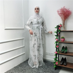ccb421258d0 Sequin Muslim Abaya Dress Wholesale