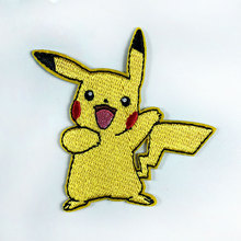 <span class=keywords><strong>Pikachu</strong></span> pokemon logo iron pocket comic borduurwerk badge applique <span class=keywords><strong>kostuum</strong></span> patch