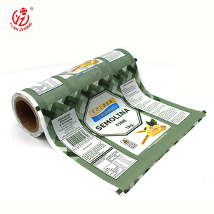 bopp semolina flour packaging plastic thermal lamination film roll with own logo