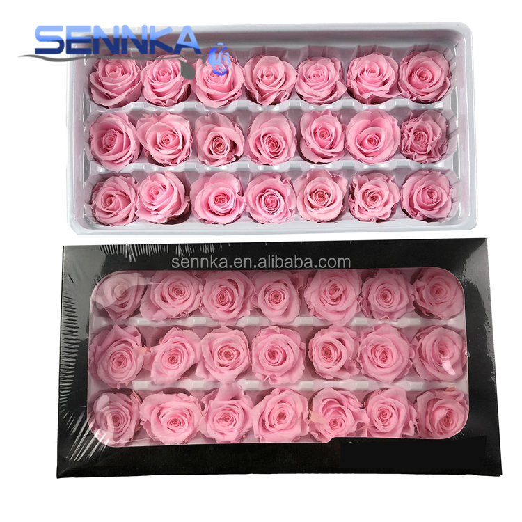 Export Fresh Cut Immortal Flowers Preserved Roses in Box