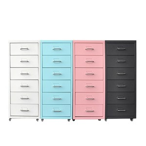 shallow depth multi 7 drawer filing cabinet