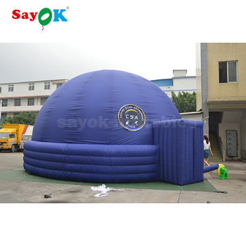 360 degree star inflatable planetarium dome tent projection cinema
