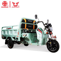 adults 3 three wheels 60v800w electric cargo tricycle from zongshen china 2018
