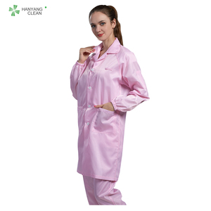 Cleanroom ESD Antistatic Cleanroom Garment/Smock/Coverall/Suit/lab coat/Clothes