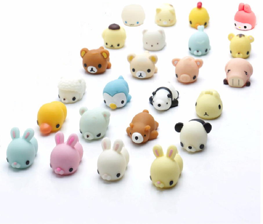 ActEarlier Mini Mochi Squishies Toys Glitter wholesale squishy animal toys