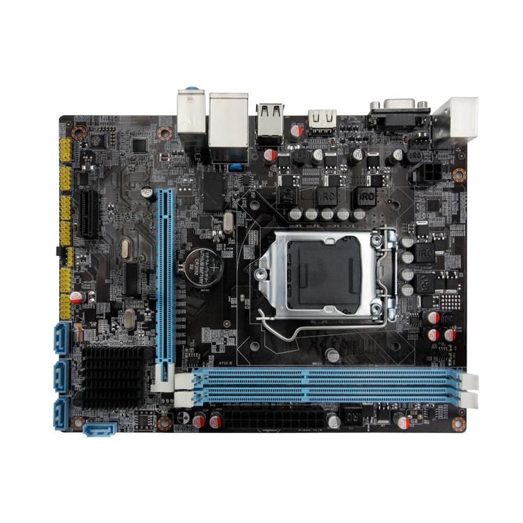 Intel hm55 socket/lga 1156 ddr3 motherboard фото