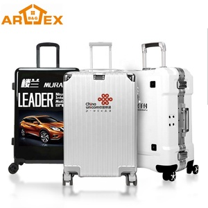 New Style Custom Logo 4 wheels Travel Draw-bar box Trolley Luggage case Shockproof Luggage sets