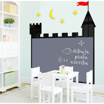 Magnetic notice writing black chalk board