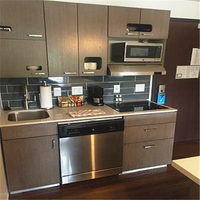 Good quality modern hotel kitchenette design kitchen mini kitchen cabinet