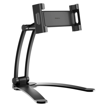New Products ROCK Universal 360 Adjustable Desktop Phone Holder for Mobile phones Suspensible Lazy Bracket for Ipad Stand