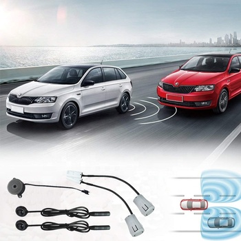Ultrasonic Blind Spot Detection System BSD Change Lane Safer BSA BSM Blind Spot Monitoring Assistant Car Driving Security detect