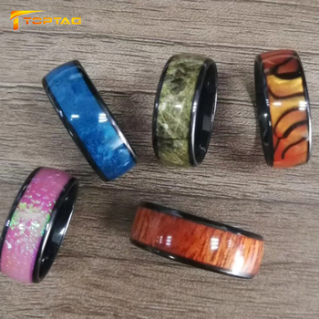 2019 New Design Wearable NFC RFID Smart Ring with Programmable APP