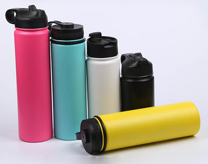 Simple Modern Wide Mouth Vacuum Insulated Stainless Steel Powder Coated Sport Cup Water Bottle