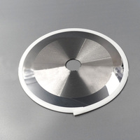 High quality customized size circular slitting knives flat circular blade for paper cutting