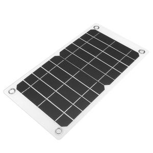 Sinoshine Conversion efficiency multi function Flexible Solar Panel 7.5w for outdoor traveling and hiking