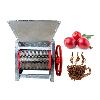 NEWEEK Cuba market manual coffee bean sheller dehulling machine coffee huller
