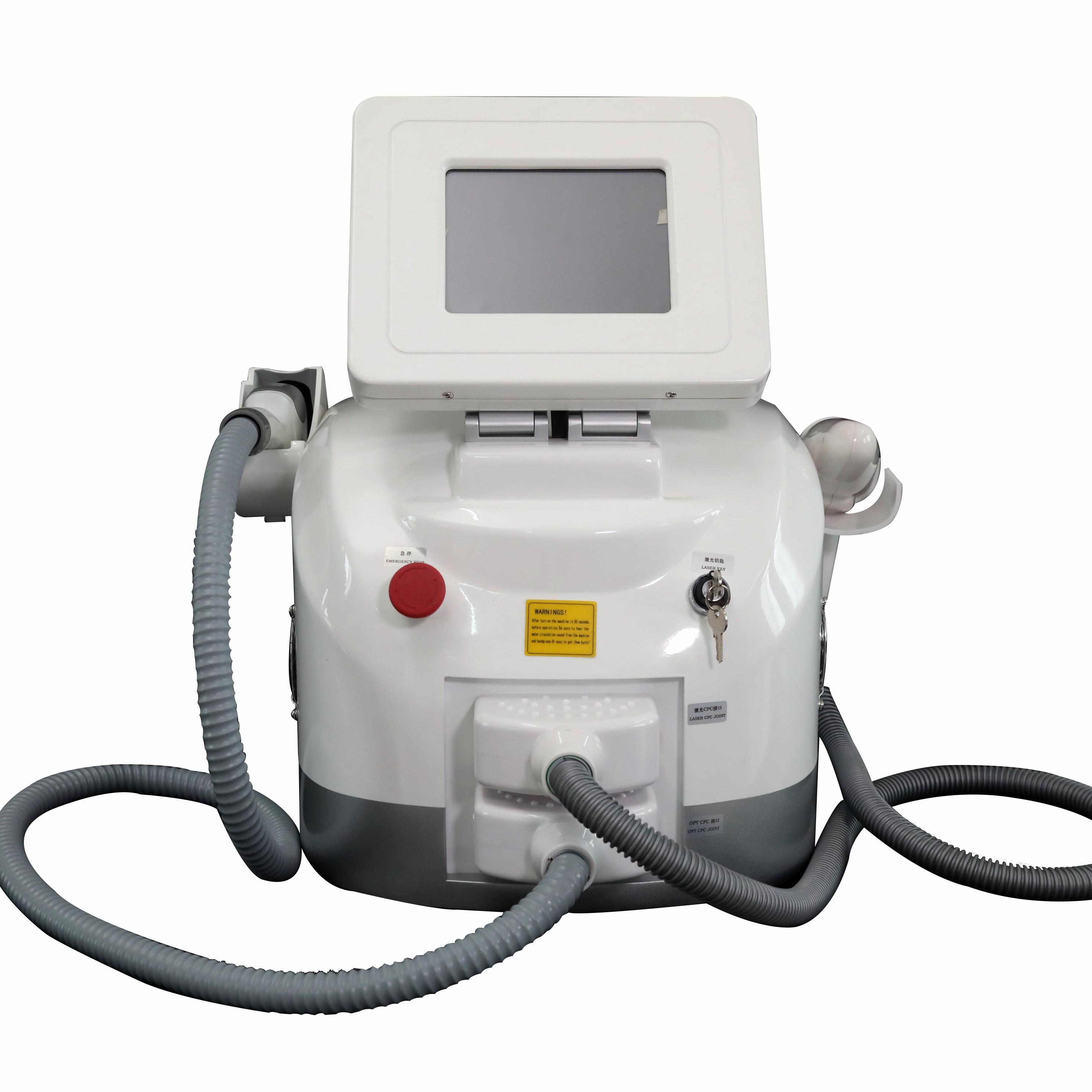 Multifunction IPL shr laser hair removal beauty machine/manipulo ipl shr laser med hair removal machine skin rejuvenation фото