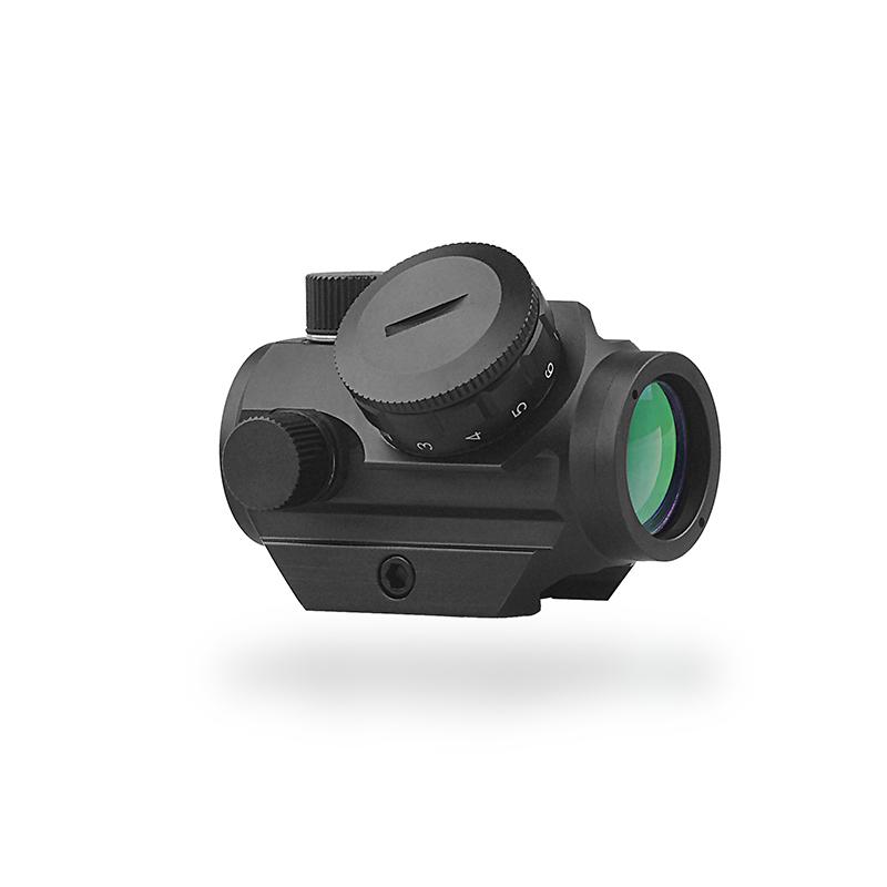 Tactical Mini Reflex Red/Green Dot Scope Sight QD-Quick Riser Mount Quick Detach 20mm Rail Aim Scope