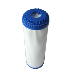 10 inch UDF activated carbon cartridge filter for household pre filtration carbon granule filter water filter