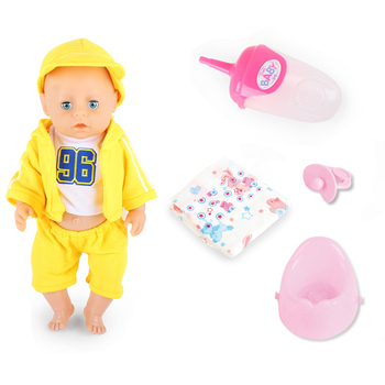 18 inch wholesale lovely baby PVC plastic china baby alive doll with 12 sound IC battery baby doll